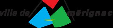 Ville de Merignac logo long